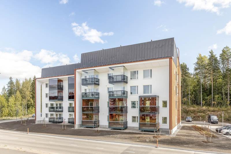 Savuton asumisoikeustalo Jyväskylässä osoitteessa Norkkokatu 2.