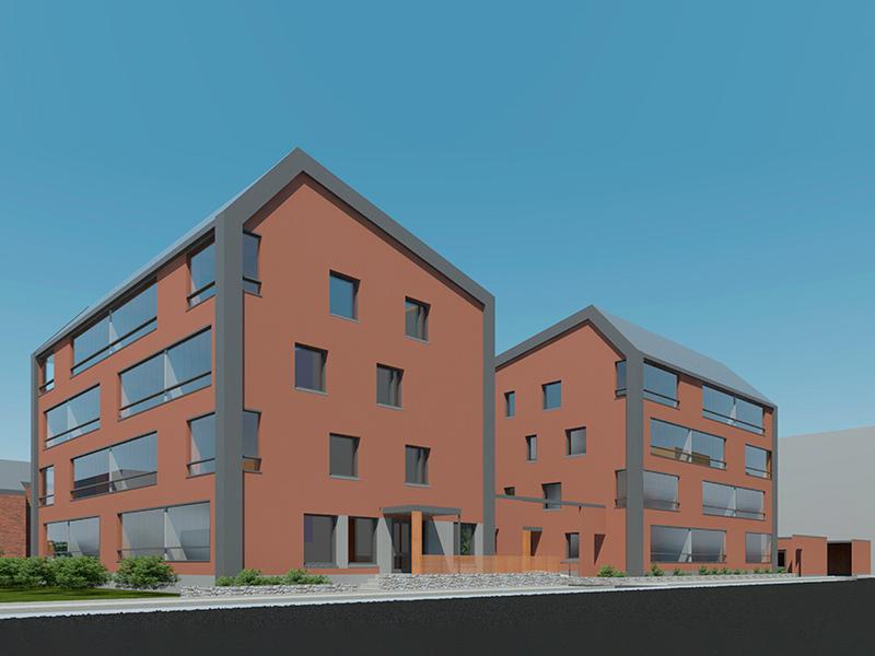 Vantaan Koivuhakaan, osoitteeseen Peltolantie 33, rakennetaan uusia asumisoikeusasuntoja.
