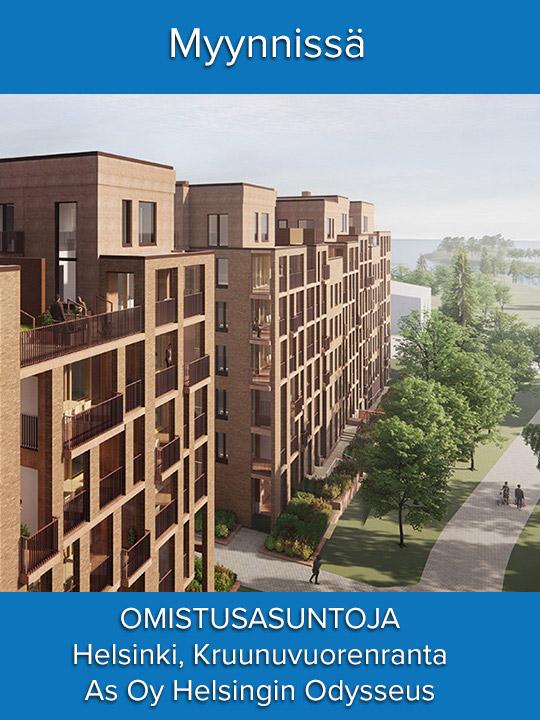 Ennakkomarkkinoinnissa As Oy Helsingin Odysseus